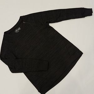 Gerry heathered black sweater NWOT